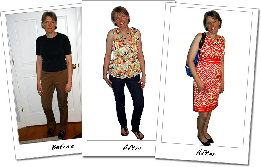 Scarlett Image makeovers are proven to deliver the results that will blow your mind. Have a look at some of our before & after and request your own what to wear today.