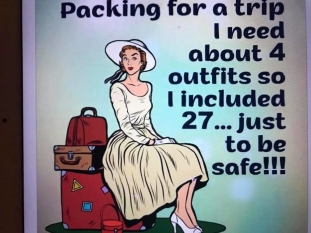 How To Pack A Suitcase for A Week In a Carry-On
