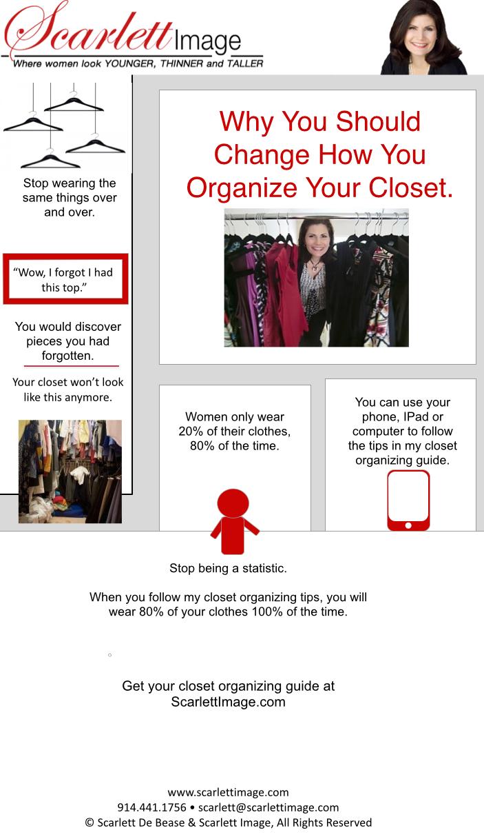 Organized Closet For Women