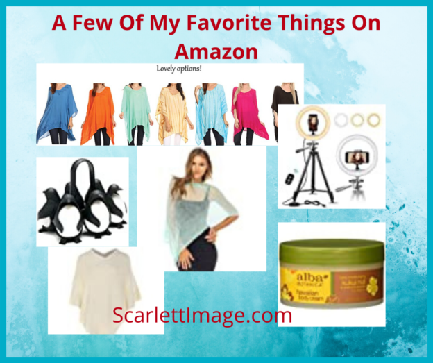 my favorite things on Amazon
